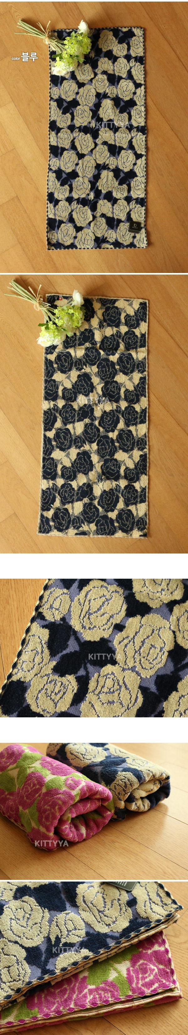 ETOILE 로즈 페이스 타올 (2color) - 키티야, 23,640원, 수건/타올, 바디타올