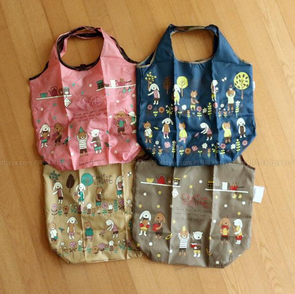 크루르 크루레 시장가방 에코백 (4color) - 키티야, 14,200원, 캔버스/에코백, 에코백