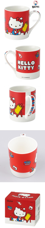 산리오제팬 캐릭터 도기 머그컵 (240ml) - 키티야, 8,100원, 머그컵, 일러스트머그