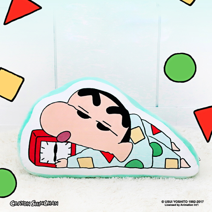 짱구 파자마 라인프린트 쿠션 버전6 (시계) - 키티야, 29,700원, 쿠션, 캐릭터