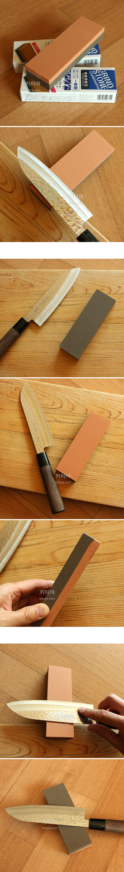 에코 칼갈이 양면 숫돌 - 키티야, 3,700원, 칼/커팅기구, 칼 갈이