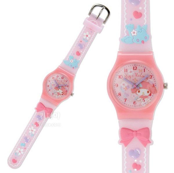 마이멜로디 러버 손목시계 (작은새) - 키티야, 45,800원, 여성시계, 캐릭터시계