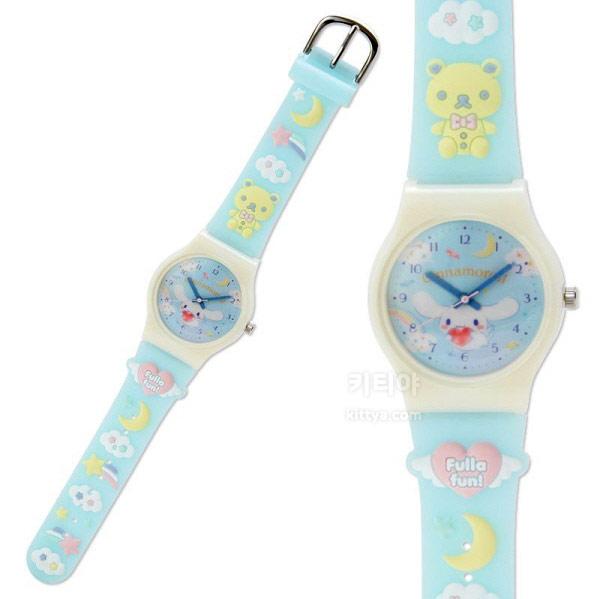 시나모롤 러버 손목시계 (곰) - 키티야, 45,800원, 여성시계, 캐릭터시계