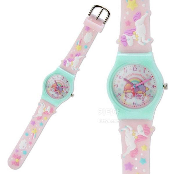 리틀트윈스타 러버 손목시계 (유니콘) - 키티야, 45,800원, 여성시계, 캐릭터시계