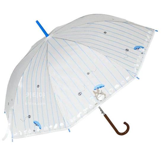 토토로 비닐 자동 장우산 (비사랑) - 키티야, 52,000원, 우산, 자동장우산