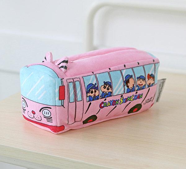 짱구 봉제 파우치 (유치원버스) - 키티야, 13,600원, 다용도파우치, 지퍼형