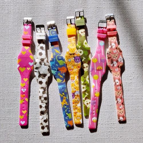 키더스 LED 어린이 시계 (랜덤발송) - 키티야, 11,500원, 여성시계, 캐릭터시계