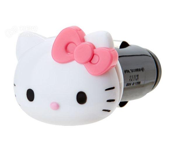 헬로키티 차량용 USB 충전기 (블랙핑크) - 키티야, 33,300원, 자동차용품, 기타용품