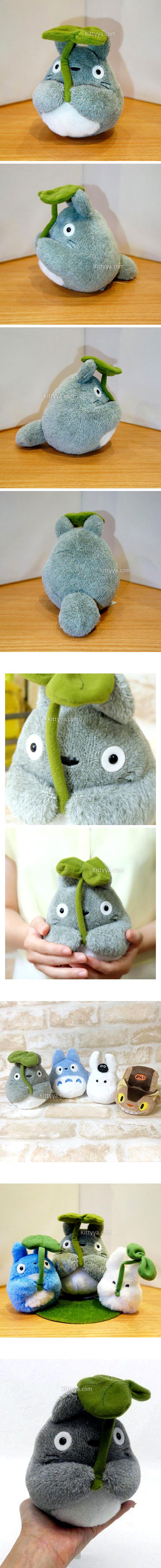 토토로 훈와리 오테다마M 봉제인형 (잎사귀우산) - 키티야, 41,200원, 장식소품, 기타 소품